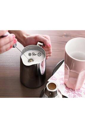 Biotech Kahve Süt Cappucino Pilli Köpürtücü Çırpıcı Bebek Maması Yumurta 1