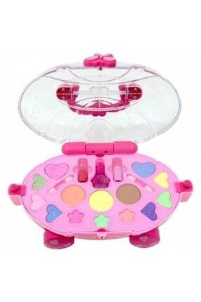 DEDE Barbie Oyuncak Güzellik Salonu + Oyuncak Makyaj Arabası Sürülebilir Çocuk Makyaj Set Depomiks Avm 1