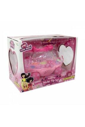DEDE Barbie Oyuncak Güzellik Salonu + Oyuncak Makyaj Arabası Sürülebilir Çocuk Makyaj Set Depomiks Avm 3