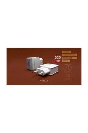 Syrox 3.0 Amper 12wolt Micro Hızlı Şarj Aleti 3.0 Amps 12wolt Micro Fast Charger 1