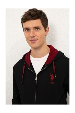 US Polo Assn Erkek Siyah Sweatshirt G081sz082.000.1082420 1