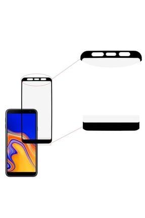 Three Star Samsung J4 Plus Siyah 6d Renkli Nano Ekran Koruyucu Tam Kaplayan Kırılmaz Esnek Cam 1