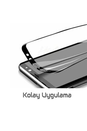 Three Star Samsung J4 Plus Siyah 6d Renkli Nano Ekran Koruyucu Tam Kaplayan Kırılmaz Esnek Cam 3
