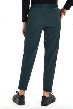 İkiler Beli Lastikli Kordonlu Cepli Pantolon 201-3520 3