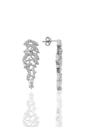 Söğütlü Silver Gümüş Rodyumlu Pırlanta Modeli Prenses Gümüş Takım. 3