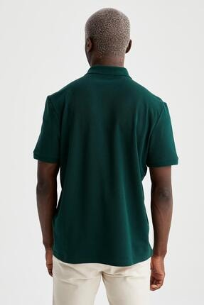 Defacto Regular Fit Polo Yaka Basic Tişört 3