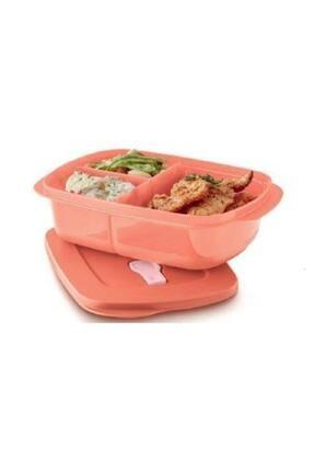 Tupperware Bölmeli Mikrodalga Beslenme Kabı 1lt 0