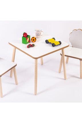 HESA Yumurcak Ağaç Masa Sandalye Takımı 2