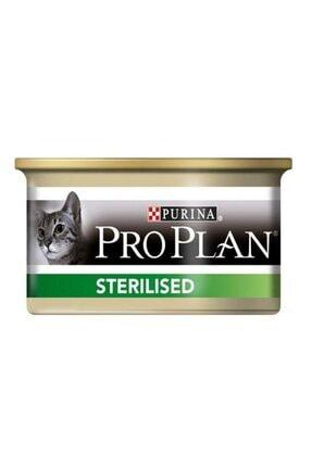 Proplan Pro Plan Sterilised Somonlu Kedi Konservesi 85 gr 0