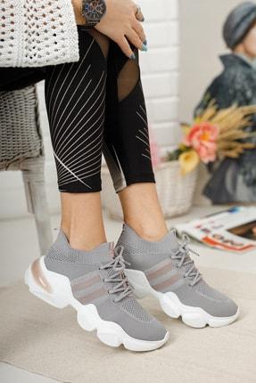 meyra'nın ayakkabıları Sneakar Gri 1