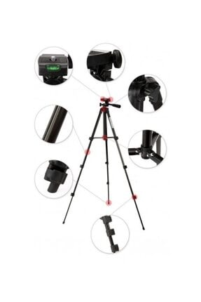 Appa 102 Cm Kaliteli Profesyonel Kamera Telefon Tripod Tf-3120 3