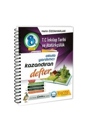 Çanta Yayınları Tc.inkılap Tarihi Ve Atatürkçülük Kazandıran Defter 8.sınıf 2021 0