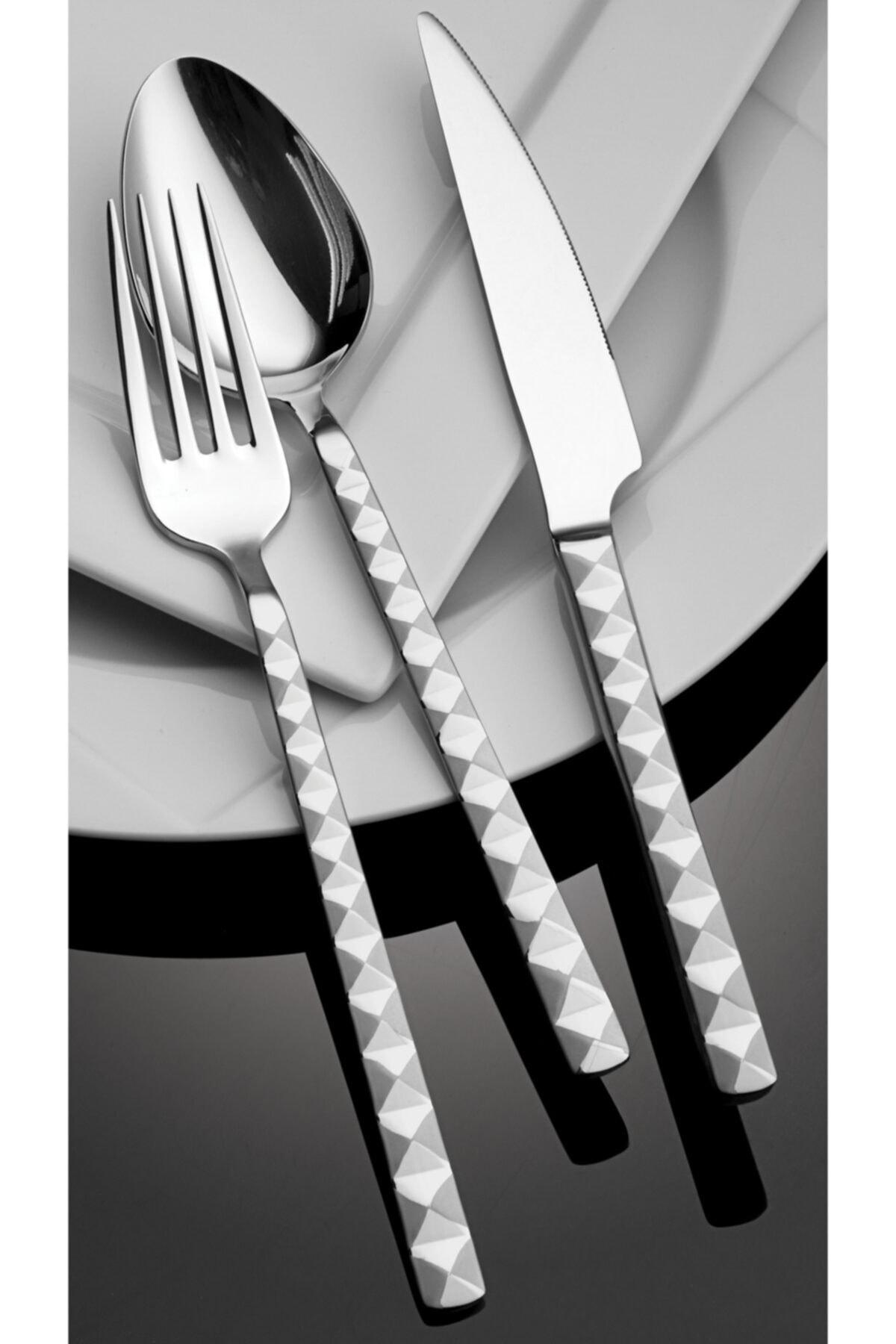 Hira Yemek Bıçağı Piramit 12 Adet