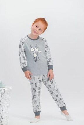 تصویر از 383 Little Fox Only Grimelanj Kız Çocuk Pijama Takımı