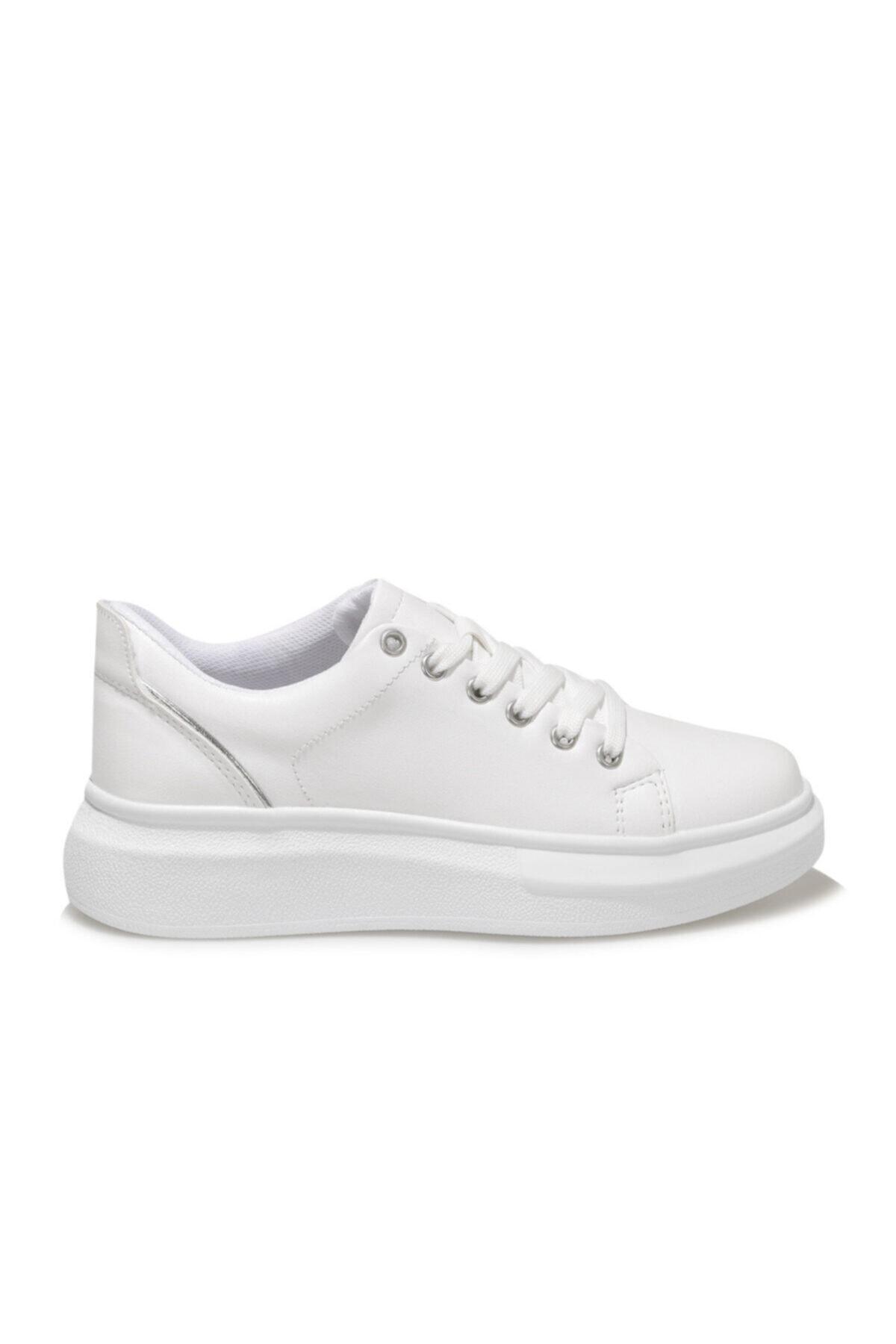 21s-0401fx Beyaz Kadın Sneaker