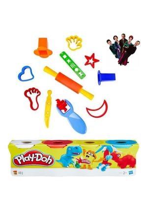 Play Doh Oyun Hamuru Kalıpları Ve 4 Renk Oyun Hamuru Kitap Ayracı 0