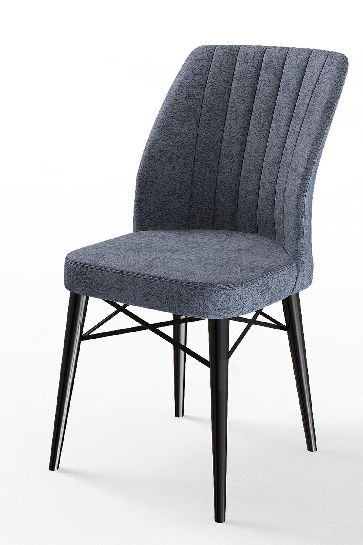Flex Serisi Füme Renk/gürgen Ayaklı 1.sınıf Sandalye / Siyah Gürgen Ayaklı