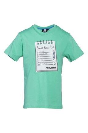 HUMMEL HMLBUCKET T-SHIRT Yeşil Erkek Çocuk T-Shirt 101086159 0