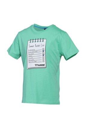 HUMMEL HMLBUCKET T-SHIRT Yeşil Erkek Çocuk T-Shirt 101086159 2