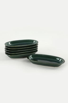 Keramika Zümrüt Hitit Kayık Tabak 16 Cm 6 Adet 1