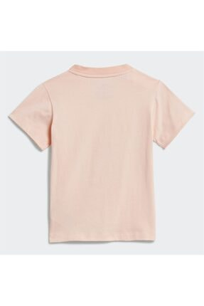 adidas Kız Bebek Pembe Baskılı  T-Shirt 1