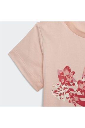 adidas Kız Bebek Pembe Baskılı  T-Shirt 2