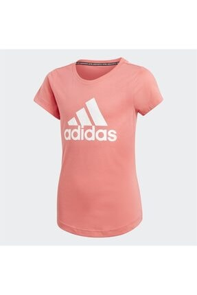 adidas Kız Çocuk Pembe  T-Shirt 0
