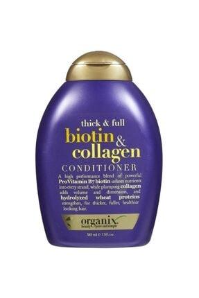 OGX Dolgunlaştırıcı Biotin Ve Kolajen Saç Bakım Kremi 385 Ml 0
