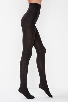 Penti Kadın Siyah Termal Külotlu Çorap 0