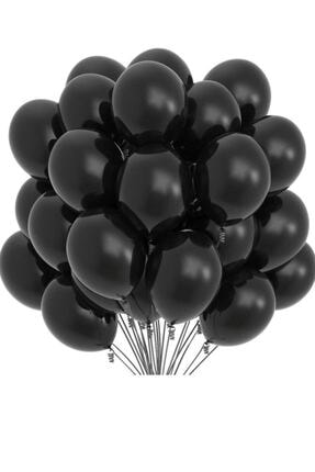 Organizasyon Pazarı Siyah Balon 10'lu 0