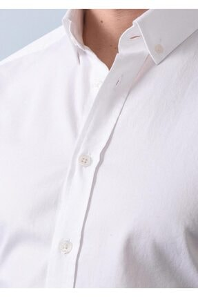 Ramsey Dokuma Uzun Kollu Gömlek 2