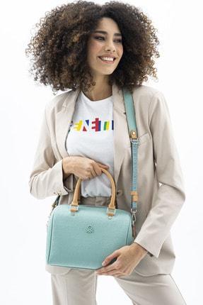 Benetton Kadın Açık Camel  Kol Çantası Bnt455 3
