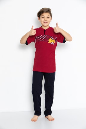 Erkek Çocuk Pijama Takimi 2554