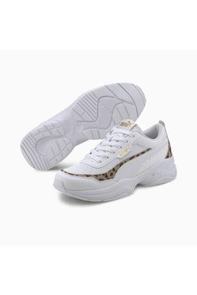 Puma CILIA MODE LEO Beyaz Kadın Sneaker Ayakkabı 100660669 2