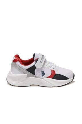 US Polo Assn PEJA Beyaz Erkek Çocuk Koşu Ayakkabısı 100601585 1