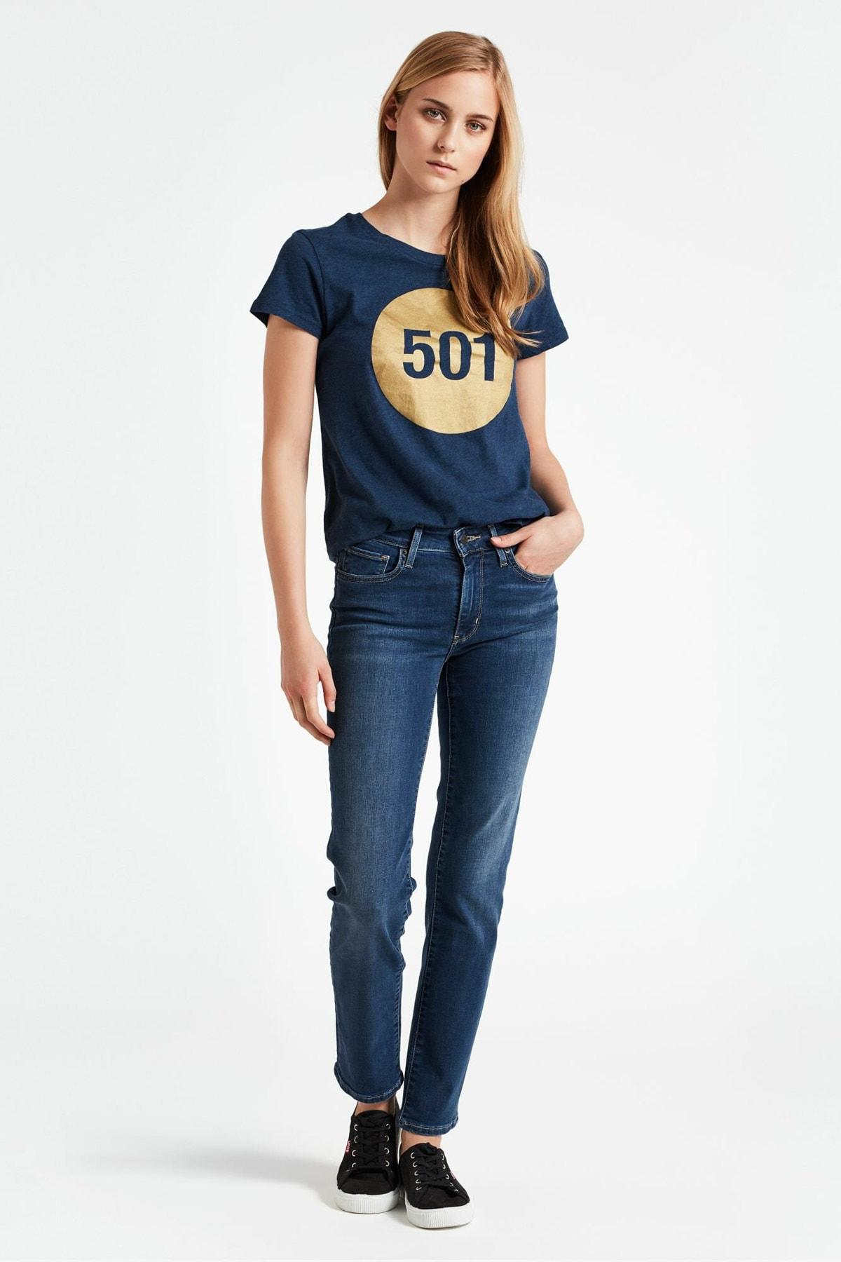 Kadın 712 Slim Jean 18884-0148