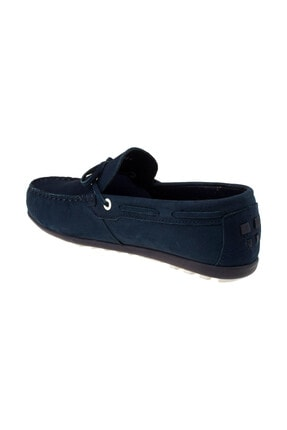 Vicco Unisex Lacivert Hakiki Deri Ayakkabı 211 920.18Y303G 3