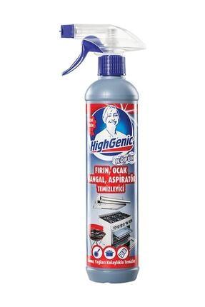 Highgenic Fırın, Ocak, Mangal, Aspiratör Temizleyici Sprey 500 ml 0