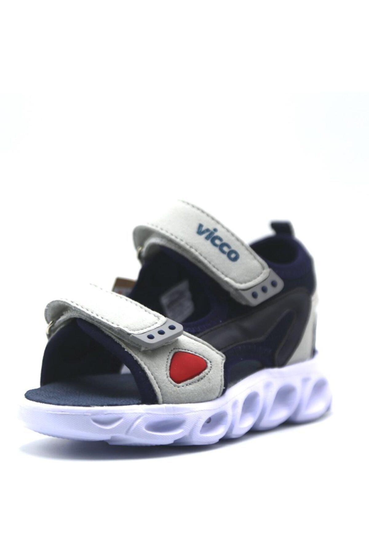 Erkek Çocuk Lacivert Günlük Sandalet