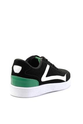 Bambi Siyah Süet Erkek Sneaker E01871000172 3