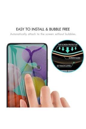 carecase Samsung Galaxy A71 Kavisli Gizlilik Filtreli Hayalet Ekran Koruyucu 2