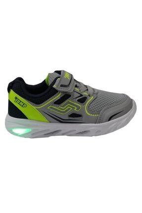 Jump 24805 Gri Anatomik (26-30) Işıklı Çocuk Ayakkabı 1