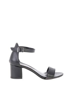 Bambi Siyah Kadın Klasik Topuklu Ayakkabı K01503724009 1