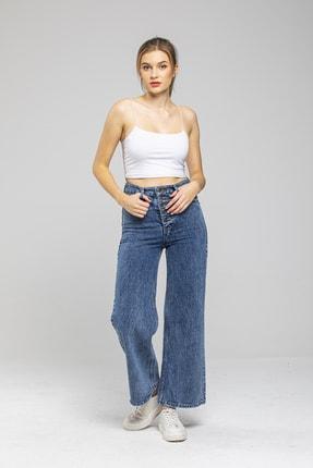 Sismo Butik Bol Paça Kot Pantolon Wide Leg Jeans 1