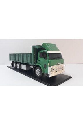 Boy:47-yükseklik:16 Cm 1:18 Ölçü Ford D-1210 Kasalı Kamyon Yeşil Beyaz Panjur TYC00131288348