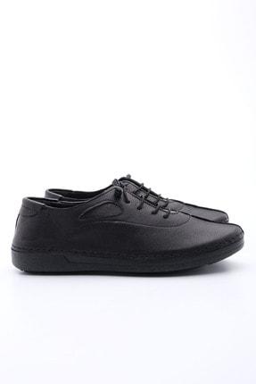 Marjin Kadın Siyah Hakiki Deri Günlük Comfort Ayakkabı Edor 4