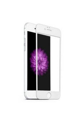 rez Iphone 7plus Ve 8plus 5d Komple Kaplayan Kırılmaz Cam Beyaz Full 0