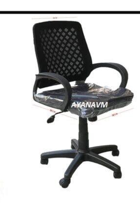 Fabrika Sers Büro Ofis Çalışma Koltuğu-siyah Bilgisayar Sandalyesi 3