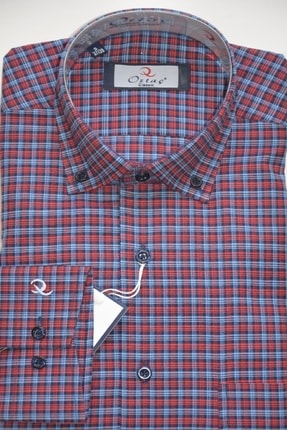 Gömlek Klasik Uzun Kol Kareli SED555
