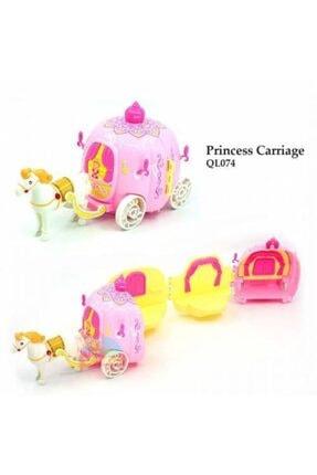 dreamtify Similan Benim Ilk Prenses Arabam Bal Kabağı Evi 44 Parça Barbie Tarzı 2